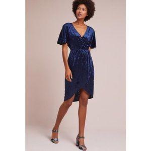 Anthropologie • NWT Velvet Plisse Dress